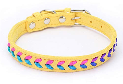 PEHTEN Small Cats Collars Kitten Chihuahua Accessories Retractable