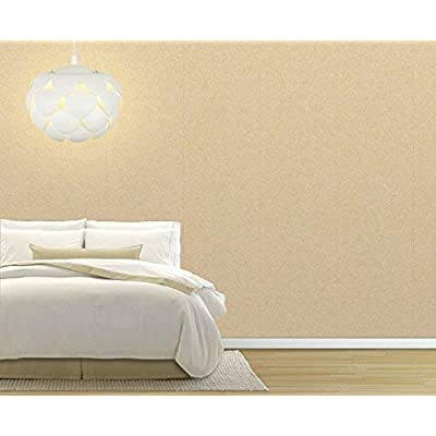 Large Wall Mural Solid Wheat Color Pattern Vinyl Wallpaper Removable Decorating, Made With Love, Handsome Print