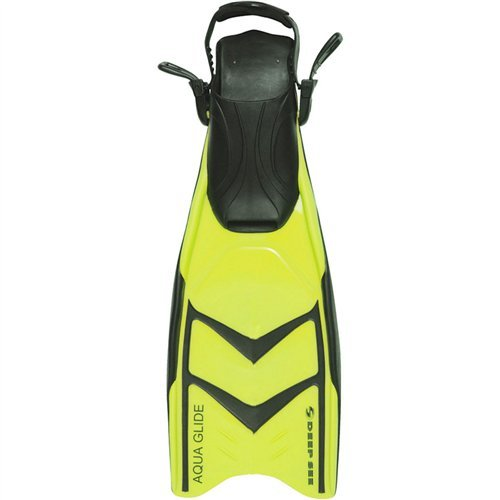 - Deep See Fins Aqua Glide Split Yellow 5-9