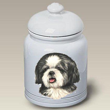 (Best of Breed Shih Tzu Puppy Cut - Linda Picken Treat Jar )
