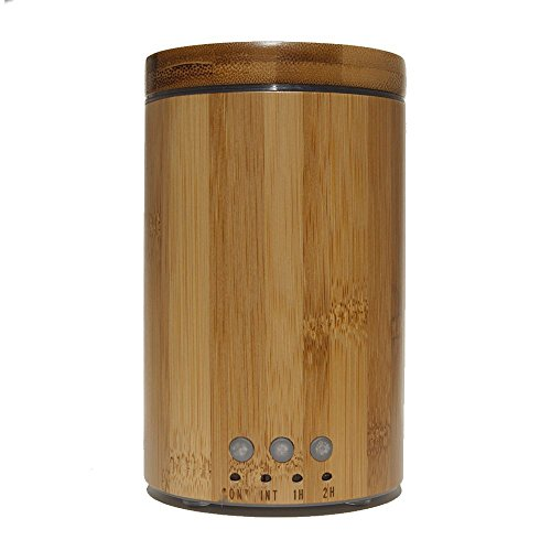Real Bamboo Aroma Diffuser Ultrasonic Cool