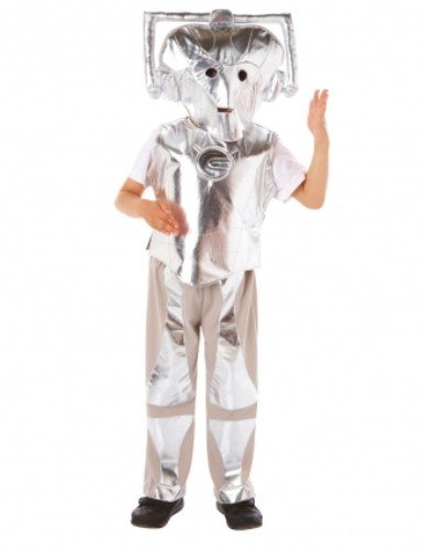 Doctor Who Cyberman Costume (3 - 5 Years) -