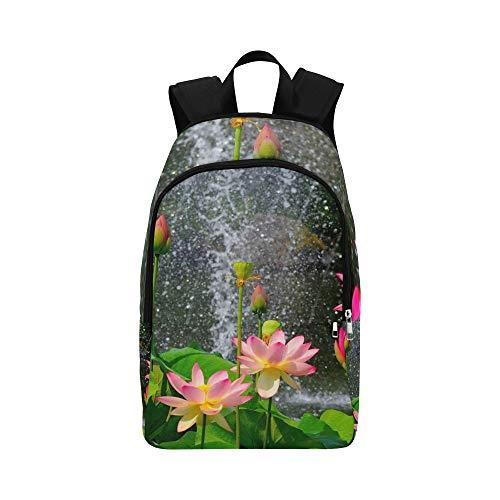 IIAKXNB Flowers Gardens Wallpapers Desktop Full Size Casual Daypack Travel Bag College School Backpack Mens Women