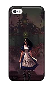 Fashion PizvlQn10480cXJdZ Case Cover For Iphone 5/5s(alice Madness Returns)