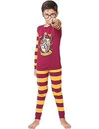 Big Boys Harry Potter Gryffindor 2 Pc L/S Tight Fit PJ Set