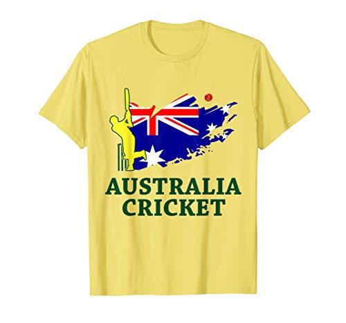 Cricket Australia Aussie Flag Union Jack Stars T-Shirt (Shirts Cricket Australia T)