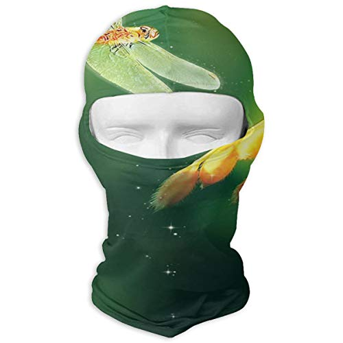 Balaclava Trendy Dragonfly Full Face Masks UV Protection Ski Hat Headcover Motorcycle Neck Warmer Hood for Cycling Hiking Women Men Youth (Driver Headcover Dragon)