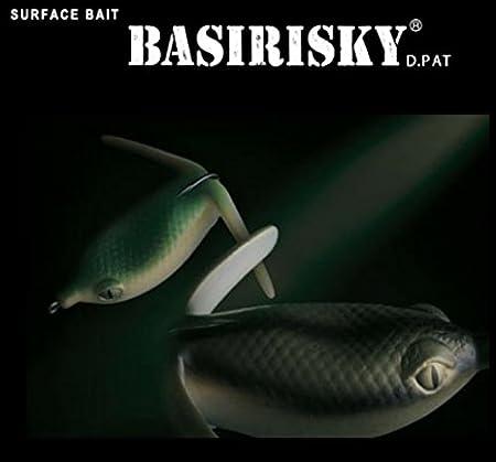 Basirisky 60, Indicatore di Pesca Unisex – Adulto, 11 Wild Stripe, Taglia Unica Deps 4544565040119
