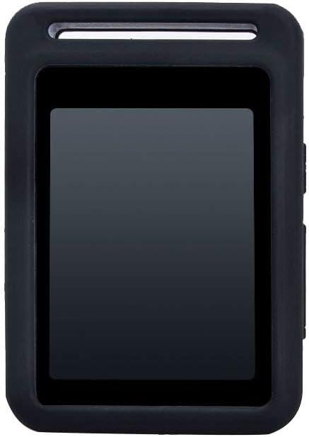 Negaor 保護カバーアンチスクラッチスリーブシリコンケースSearick MP3音楽プレーヤーブラック