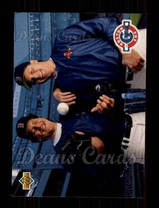 (1993 Upper Deck # 48 Roger Clemens/Frank Viola Boston Red Sox (Baseball Card) Dean's Cards 8 - NM/MT Red Sox)