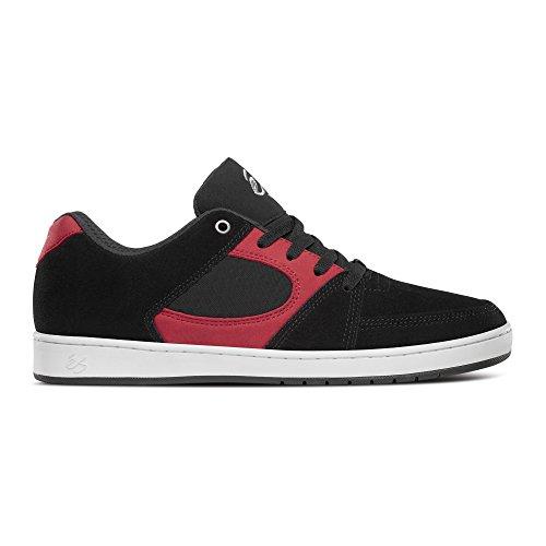 Es Noir Slim gum Brown Shoes rouge blanc Accel rXfqwr