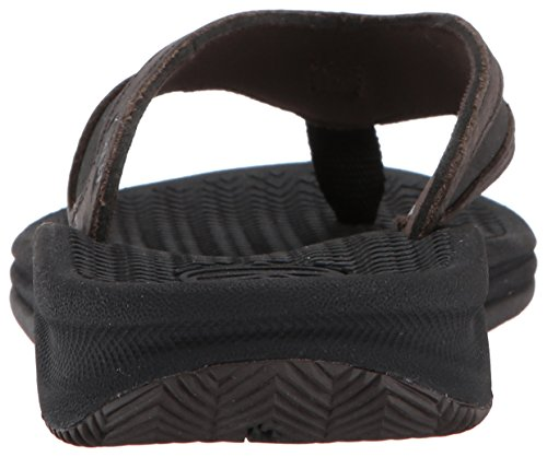 Reef Flex Le, Sandali Uomo Nero (Black/Brown)