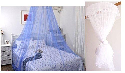 JUNGEN Tente Moustiquaire Adulte Pliant Matelas et Oreiller Moustiquaire Tente Nomade en Coton et Gaze Tente Pop Up de Voyage Anti UV Lit