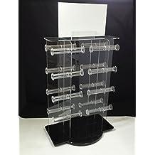 Fixture Displays Plexiglass Acrylic 16-bar Bracelet Rotating Spinner Rack 15390 15390