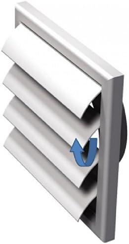 FUSSY CHOICE LTD - Rejilla de ventilación (plástico, 100 mm ...