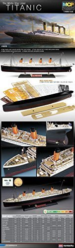 - Academy Hobby Model Kits Scale Model : Battle Ships & Aircraft Carrier Kits (1/400 R.M.S Titanic MCP)