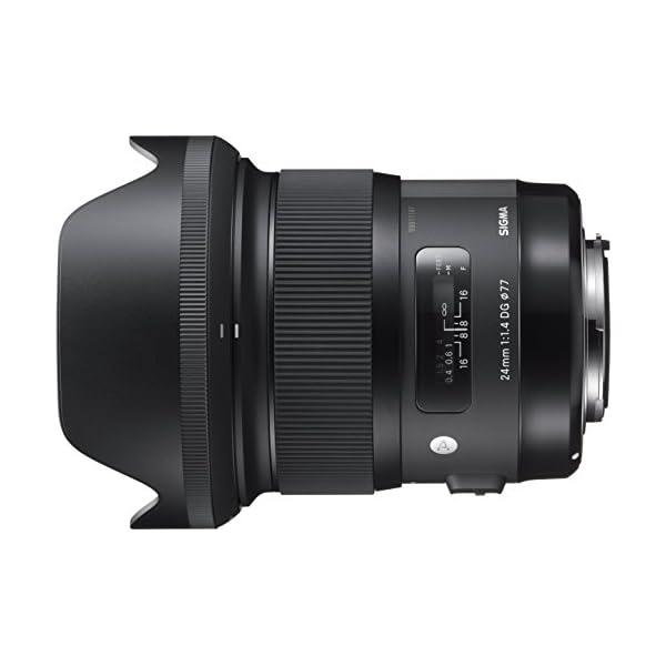 RetinaPix Sigma 24 mm f/1.4 DG HSM Art Lens for Canon DSLR Cameras