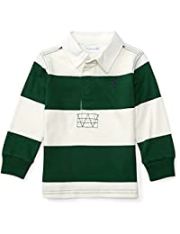 Baby Boys Striped Cotton Jersey Rugby