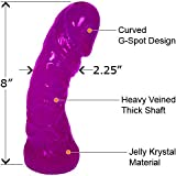 """""""Meaty Mike"""" Giant Oversized Dong, 8 Inch, ASSORTED COLORS"""