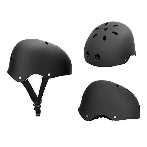 HOAEY Critical Cycles Classic Commuter Bike/Skate/Hiking/Drift Helmet(Black)