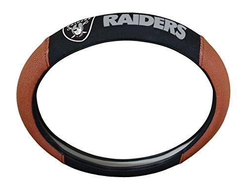 (NFL Oakland Raiders Steering Wheel Cover)