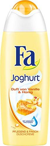 Fa Duschgel Joghurt Duft von Vanille & Honig, 6er Pack (6 x 250 ml)