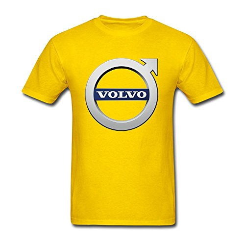 Simshirt Men's Volvo Logo Short Sleeve T-Shirt