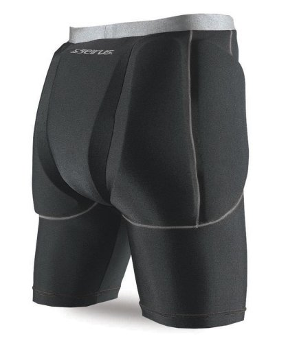 (Seirus Innovation 5656 Super Padded Shorts for Skiing, Snowboarding and Outdoor Athletics, L/XL)