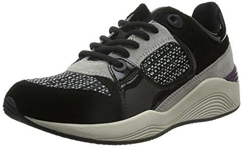 Geox D Omaya - Zapatillas de deporte para mujer Black