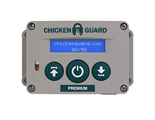 Premium Automatic Chicken Coop Pop Door Opener & Door Kit Combo | Outdoor/Indoor Auto Door Opener, Chicken Coop Accessories by ChickenGuard