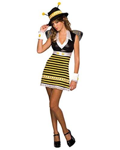 Fancy Gangster Killa Bee Honey Bee Teen Girl Costume Size 2-6 (Little Red Riding Hood Halloween Costume Teenager)