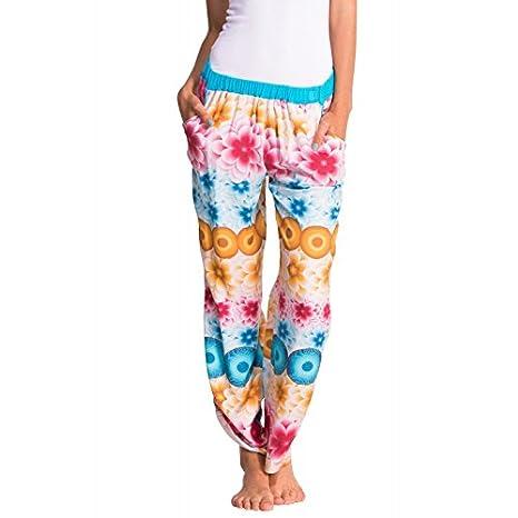 ca1bde8d27e Desigual pijama-pantalones Mandala - verano 2015 (S M)  Amazon.es  Hogar