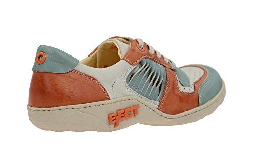 de mujer Azul 17584 Azul de cordones azul Eject para Piel Azul Zapatos wnqP0WWET