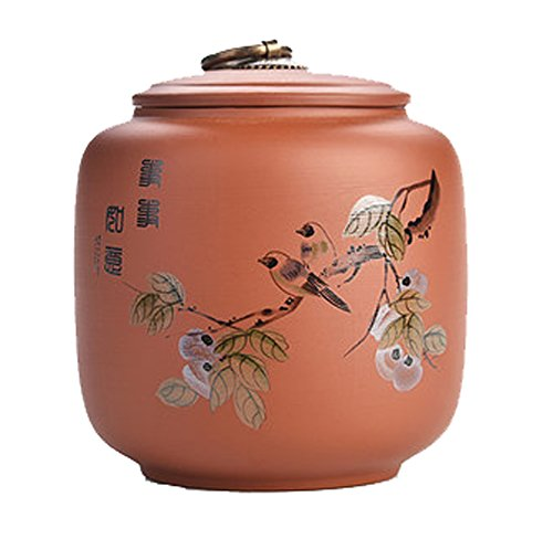 - DRAGON SONIC Chic Ceramic Tea Canister Coffee Tins Spice Jar Exquisite Tea Caddy