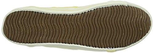 Mustang 1099-302-9 Damen Sneakers Gelb (610 pastellgelb)