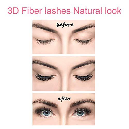 dc881035b75 Coolgoo Magnetic Fake Eyelashes 3 Magnets Fiber False Lashes, Ultra Thin  Lightweight Natural Look No
