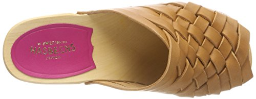 Clogs Monika Women's Hasbeens Swedish Brown Nature E7qtgfw