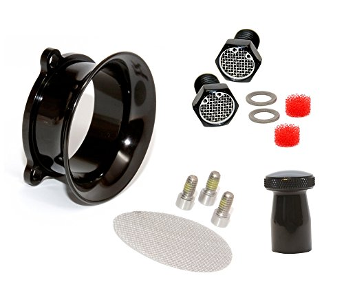 Stack Aluminum Twin (Power Kit for S&S Super E G Carb Black)