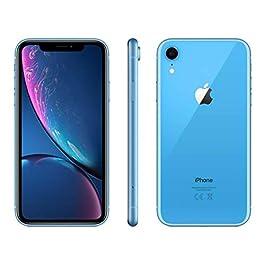 Apple iPhone XR, 64GB, Blue – Fully Unlocked (Renewed)
