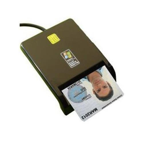 SGT111-8 USB A FIPS 201 TAA Certified DOD Military CAC Smart Card Reader (Dod Cac Reader)