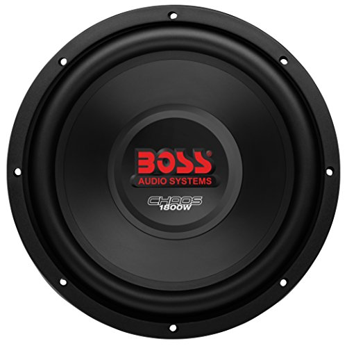 BOSS Audio CH12DVC 1800 Watt, 12 Inch, Dual 4 Ohm Voice Coil Car Subwoofer