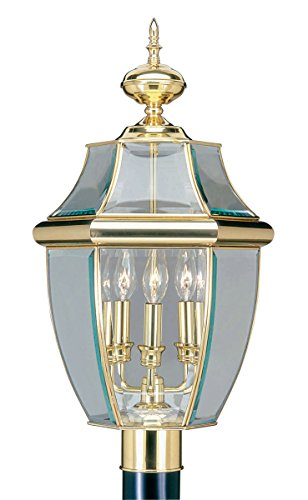 Brass Outdoor Lamp Post
