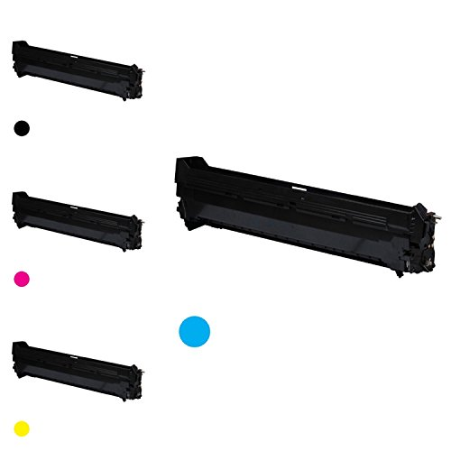 - G&G Premium Color Drum Cartridge for OKI C9600/C9800 Combo:1x(42918103),Cyan,Page Yield:42K+1x(42918104),Black,Page Yield:42K+1x(42918102),Magenta,Page Yield:42K+1x(42918101),Yellow,Page Yield:42K