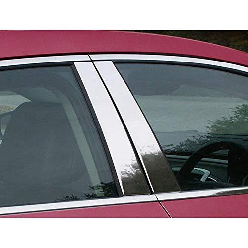 (Brighter Design 4pc. Chrome Pillar Post Set fit for 2010-2016 Buick Lacrosse)
