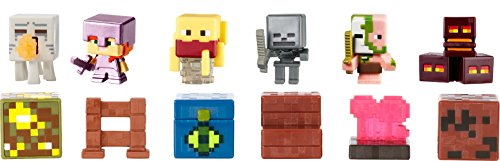 Mattel Minecraft Nether Biome Pack Mini Figure Action Figure