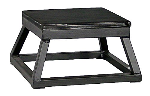Ader Plyometric Platform Box Set- 6'' & 12'' BLACK
