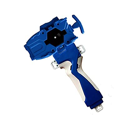Bey Launcher and Grip, Battling Top Burst Starter String Launcher, Strong Spinning Top Toys Accessories(Blue): Toys & Games