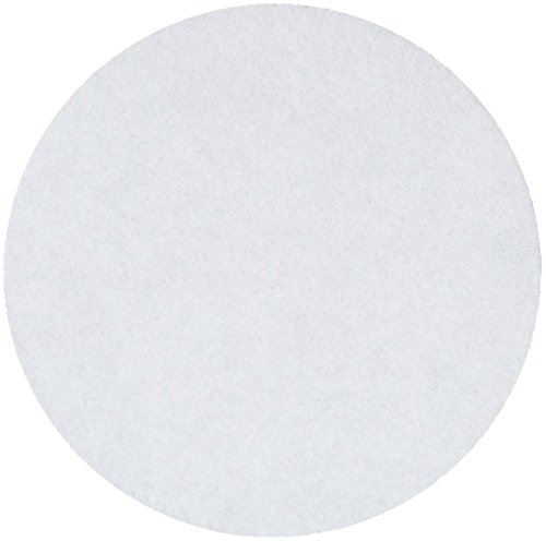 Whatman 10300014 Ashless Quantitative Filter Paper, 185mm Diameter, 12-25 Micron, Grade 589/1 (Pack of 100) by Whatman