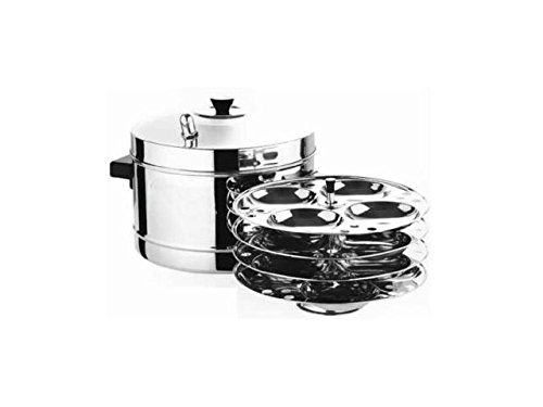 Zmatoo Stainless Steel Metal Idli Cooker With Idli Stand Low Price South India Dishes Cooker