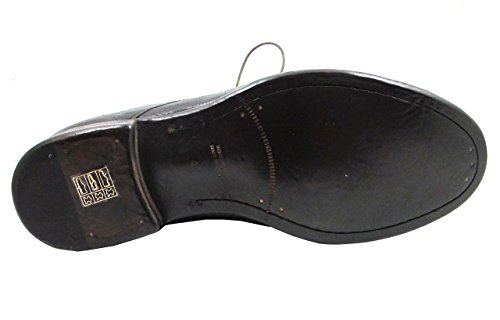 Davinci Mens Italian 9918 Dressy/Casual Lace up Ankle Boot Dark Brown TcxDHcR